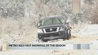 East Mountains hit by first snowstorm of the season