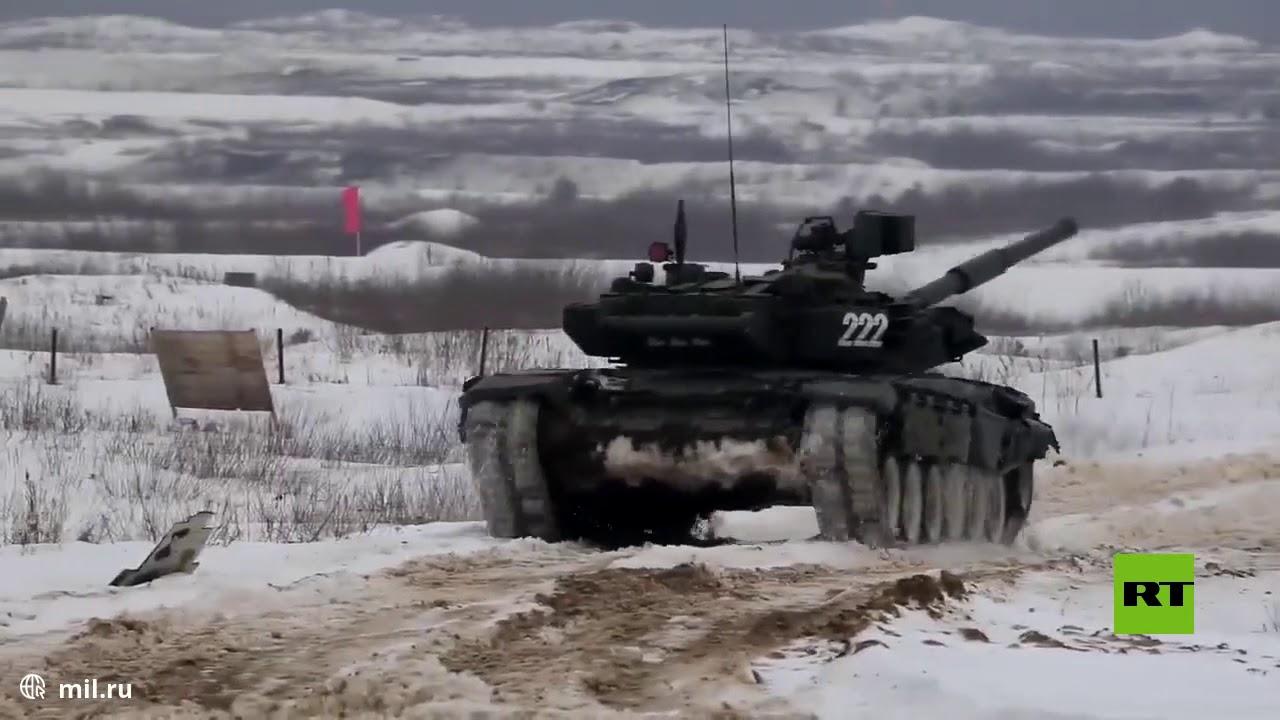 دبابات روسية تطلق النار لمسافة تصل إلى 7 كيلومترات  - نشر قبل 2 ساعة