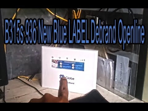 B315s 936 New Blue Sticker Unlock & Debrand Full Step Tutori