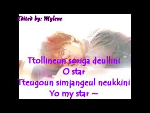 Kang Min Hyuk - Star Lyrics