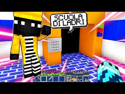ENTRIAMO ALLA SCUOLA DI LADRI!! Vita su Minecraft #3