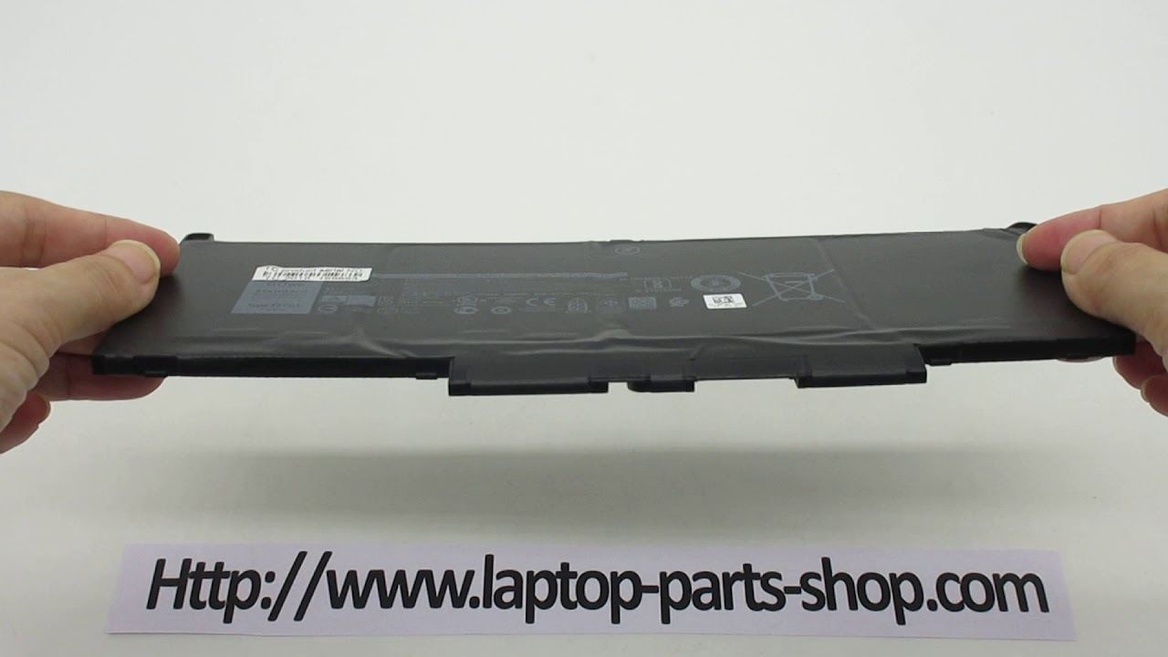 Brand New F3YGT 7 6V 60Wh Battery for DELL Latitude 7380 7480 Series