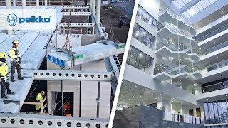 DELTABEAM® Slim Floor Structure for open spaces