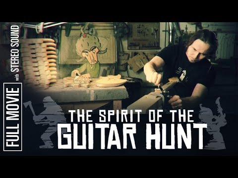 The Spirit of the Guitar Hunt - Full movie. Making of Mr. Fastfinger's Guitar