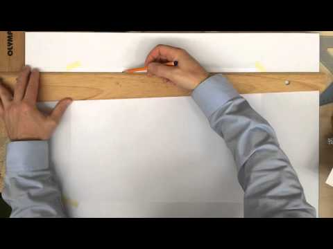 Lining out a sheet