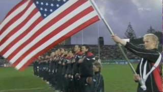 US National Anthem 9/11/11 (New Zealand)