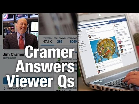 Jim Cramer Likes Facebook, Says Stock Will Climb to $120