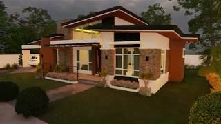 Proposed 3 Bedroom Single Storey Residential Building