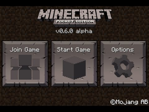 Minecraft Pocket Edition 0.6.0 Features with Gameplay