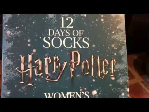 harry potter 12 days of socks day 4