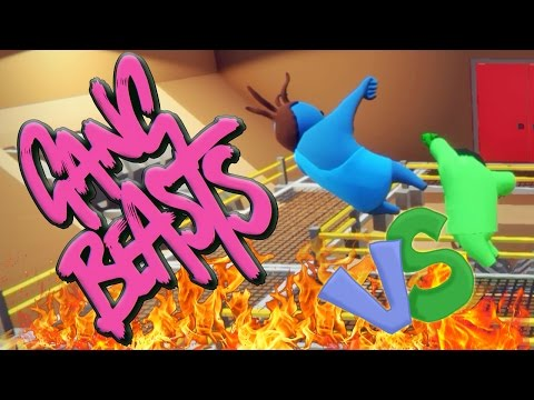 COLORED PEOPLE FIGHT - Gang Beasts W/Jacob