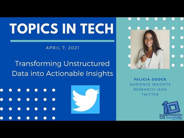 Felicia Dodge (Twitter) - Topics in Tech