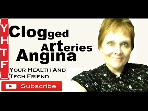 Angina,  Clogged Arteries, Atherosclerosis Heart Disease Prevention ~~Nancy