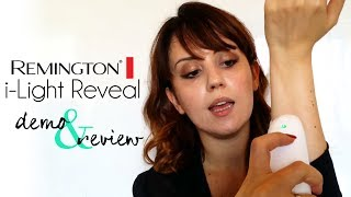 REMINGTON i-LIGHT REVEAL EPILATORE A LUCE PULSATA