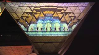 Projection Mapping [Musical Clock] by Tokyo Big Sight