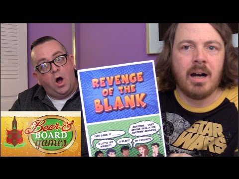 Revenge of the Blank - Beer and Board Games