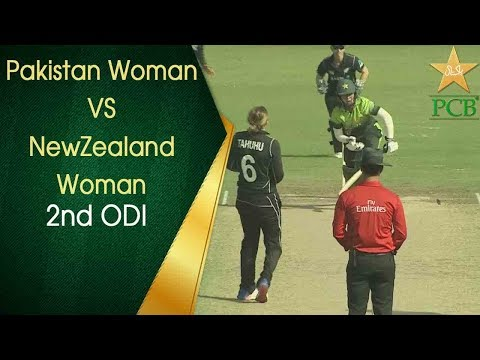Pakistan Women v New Zealand Women - 2nd ODI at Sharjah Cricket Stadium