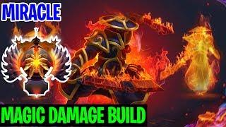 MAGIC DAMAGE BUILD - Miracle Ember Spirit - Dota 2