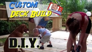 Build A Wooden Deck: Diy Project