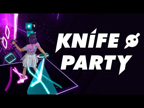 Give It Up By KNIFE PARTY In BEAT SABER - Mixed Reality (Expert+)