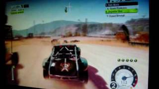 Colin mcrae DiRT 2 Gameplay HD 4870