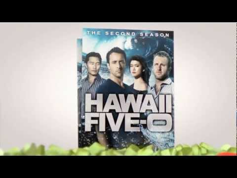 Hawaii Five0: The Second Season on Bluray and DVD