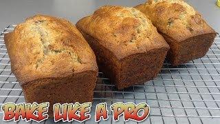 Pecan Walnut Mini Banana Bread Loaves Recipe