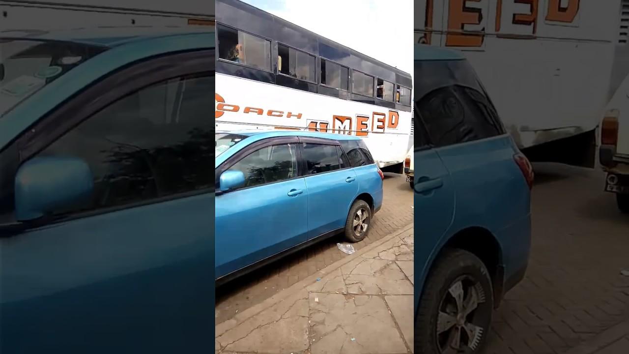 Mombasa Bound Buses in Kisumu City bus terminus - YouTube