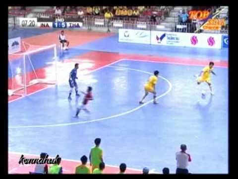 Thailand Vs Indonesia [6-1] AFF Futsal Championship 2012