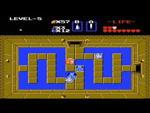 The Legend of Zelda 2nd Quest Level 5