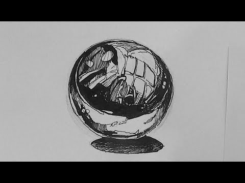 Pen And Ink Texture Challenge How To Draw A Chrome