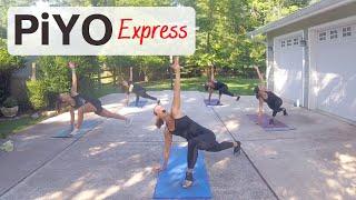 40 MIN PiYO Workout #66 | At HOME No Equipment | Yoga Flow |