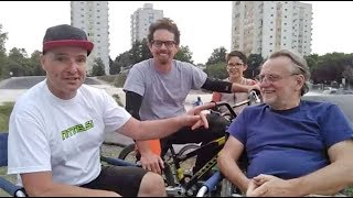 V živo z BMX rodbino Stojko Falk Breznik