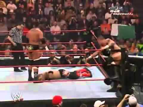 DX vs Orton & Edge part 1 YouTube