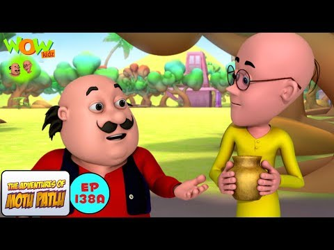 Sniffer Dog - Motu Patlu in Hindi - 3D Animation Cartoon for Kids