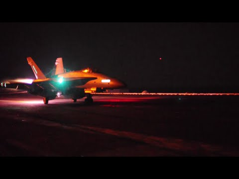Night Operations USS Carl Vinson (CVN-70)