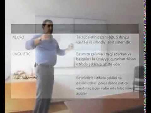 NLP ilə həyatını dəyiş...1 NLP ACADEMY AZERBAİJAN