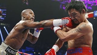 Floyd Mayweather vs Manny Pacquiao - Best Moments, бой века