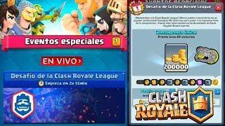 🔴 Desafío de la Clash Royale League - Clash Royale - Multi Torneos, Misiones, Ladder y Más