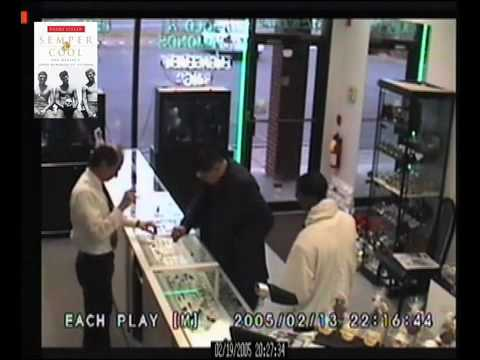 Gunfight Caught on Tape: Store Owner vs. 2 Armed Robbers