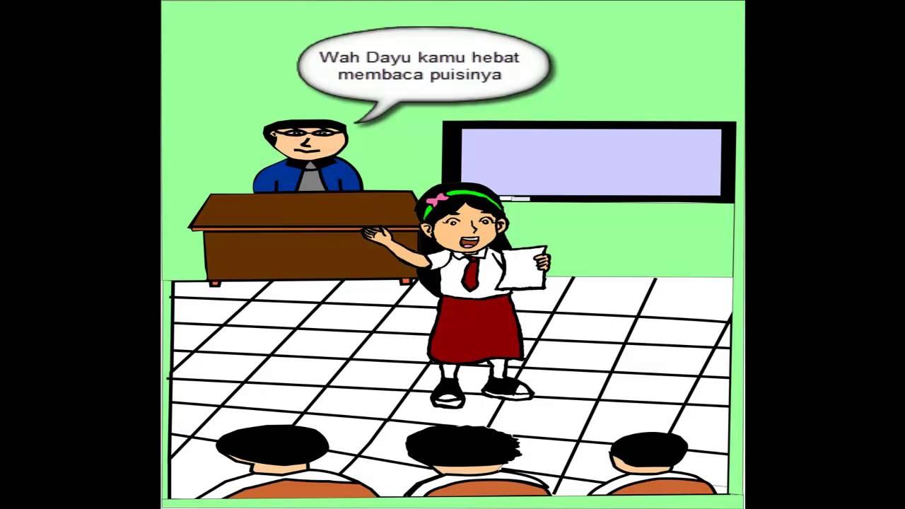 Gambar Anak Sekolah Dasar Kartun Nusagates