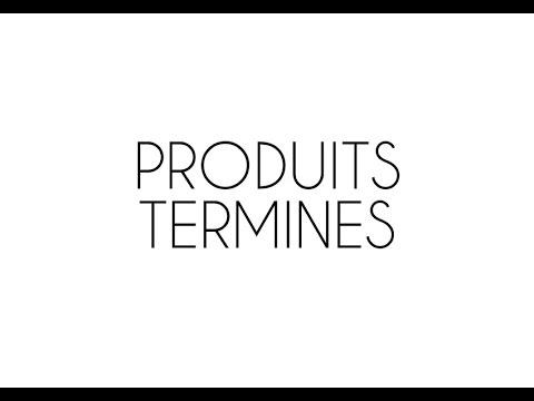 Produits terminés - Alimentation Bio (partie 1/2)