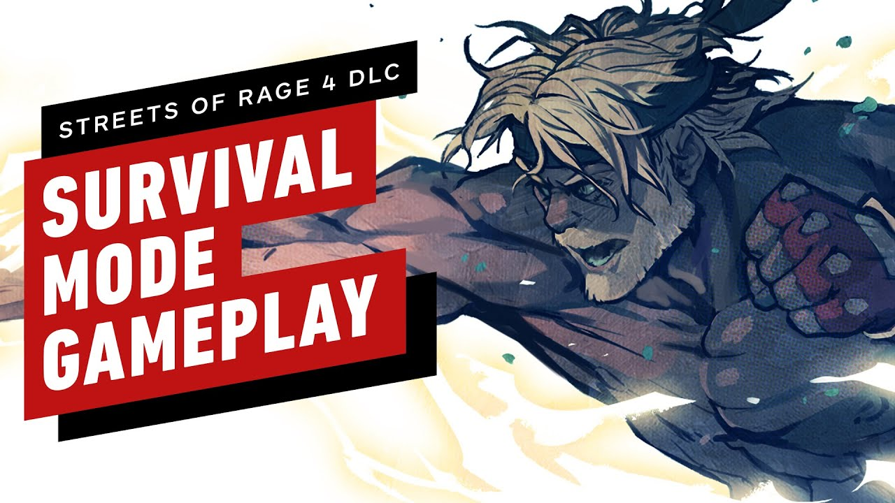 Streets of Rage 4 Mr. X Nightmare DLC - 19 Minutes of Survival Mode Gameplay as Shiva - IGN