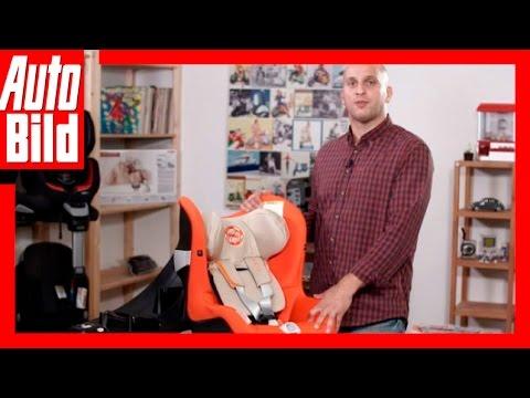 AUTO BILD Kindersitz-Testreihe: Cybex Sirona / Review / Test