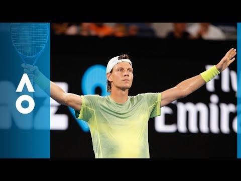 Tomas Berdych v Juan Martin del Potro match highlights (3R) | Australian Open 2018