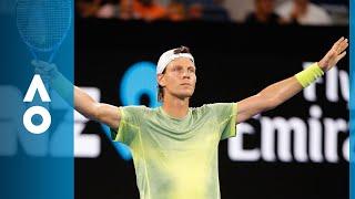 Tomas Berdych v Juan Martin del Potro match highlights (3R)   Australian Open 2018