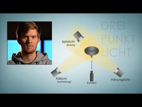 Die 3-Punkt-Beleuchtung [Video-Tutorial]