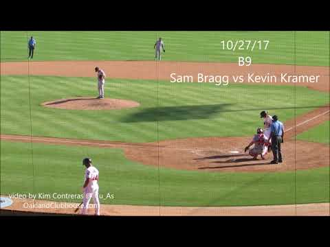 Sam Bragg at Camelback Ranch 10/27/17