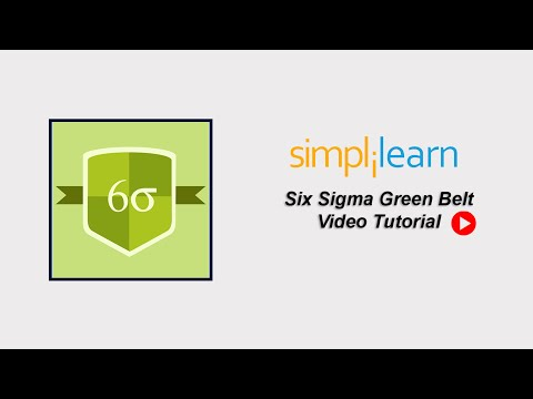Free Six Sigma Tutorial | Six Sigma Green Belt Training Part 1