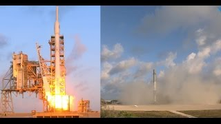 SpaceX NROL-76: Falcon 9 launch & landing, 1 May 2017